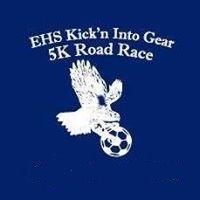EHS Boys Soccer Kick'n Into Gear Road Race Review